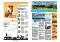 Hadlow Down New Village Hall Newspaper V4